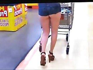 girl Hot Short Into Her Ass