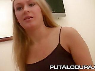 PUTA LOCURA Czech Cute Teen Facialized